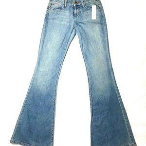 Joes Jeans Womens Stardust Wide Leg Jeans Size 24